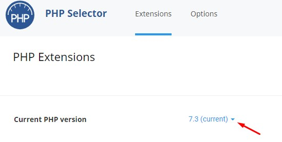 cPanel Üzerinden PHP Sürümü Değiştirme 2