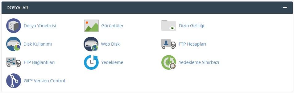 Cpanel FTP Kullanıcı Hesabı Oluşturma 1