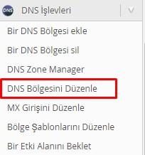 WHM Panelde Özel DNS Ayarları Girmek 2