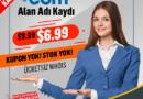 .com Domain Kayıt Kampanyası – Sadece 6.99$