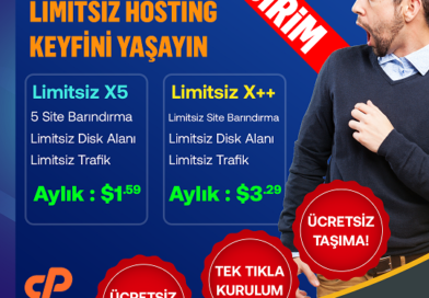Limitsiz Hosting Kampanyası | Ücretsiz SSL – Ücretsiz Taşıma
